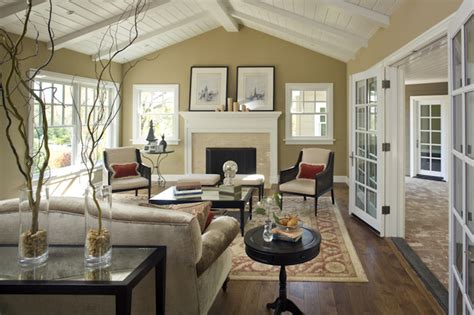 Traditional Living Room : Lafayette Residence One
