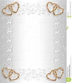 wedding invitation border white satin stock images image