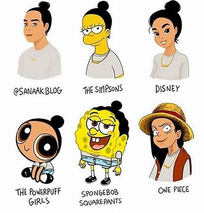 Cartoon Styles Drawing Challenge Different Artists Awesome