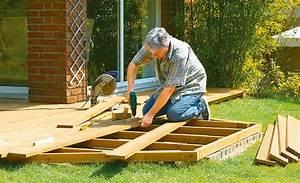 Terrasse Selber Bauen Unterkonstruktion : holzterrasse unterkonstruktion holzterrasse bild 2 ~ Lizthompson.info Haus und Dekorationen