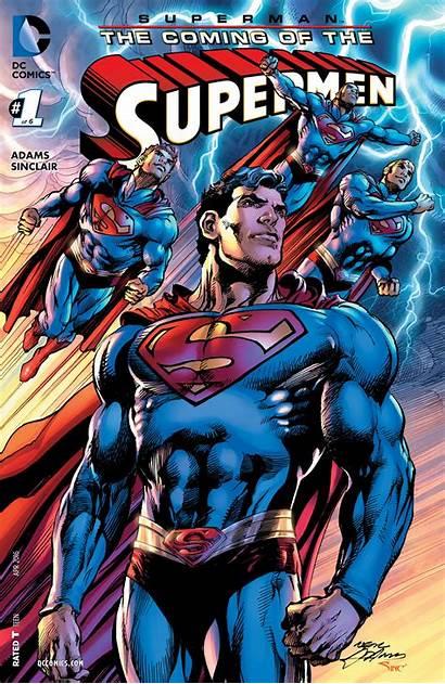 Superman Supermen Coming Adams Neal Freaksugar Discusses