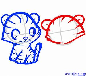 How to Draw Tigers for Kids, Step by Step, Animals For ...