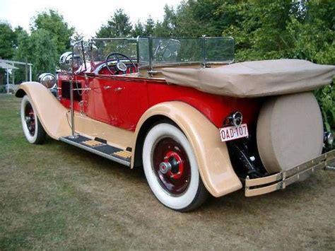 Packard dual phaeton 1926