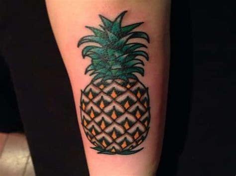 pineapple tattoo designs ideas  meaning tattoos