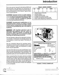Onan Commercial 4500 Wiring Diagram