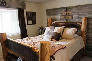 Deco Chambre A Coucher : decoration de chambre a coucher rustique visuel 6 ~ Melissatoandfro.com Idées de Décoration