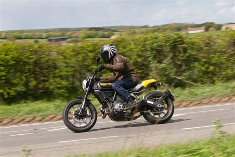 Review Ducati Scrambler Throttle by Term Test Ducati Scrambler Throttle Mcn