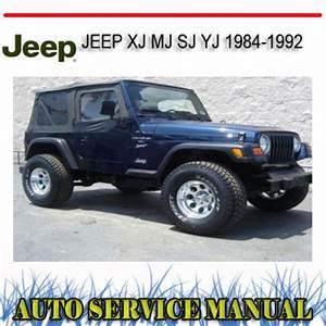 Jeep Wagoneer Xj Mj Sj Yj 1984