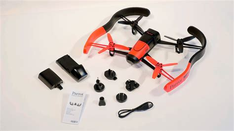 parrot bebop drone unboxing youtube