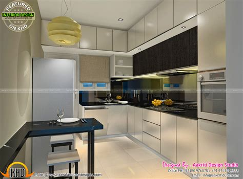 home interior kitchen design dining kitchen wash area interior kerala home design