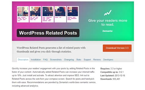 20 Best Wordpress Related Posts Plugins