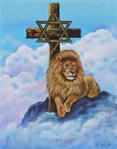 Lion of Judah with Cross