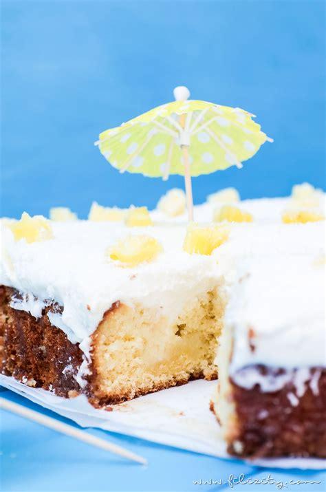 pina colada poke cake vom cocktail zur torte filizity