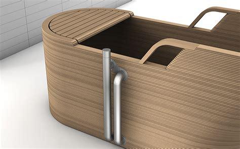 Ergo Designermoebel Kollektion Fuers Badezimmer by Italienische Design B 228 Der Mit Badewanne Aus Edlem Holz