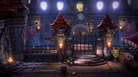 mansion luigi luigis game nintendo screenshots release come castle