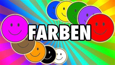 Farben Lernen Für Kinder ) Youtube