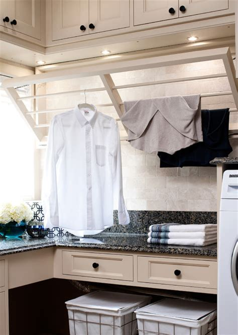 laundry room drying rack nkba award winning laundry room traditional laundry