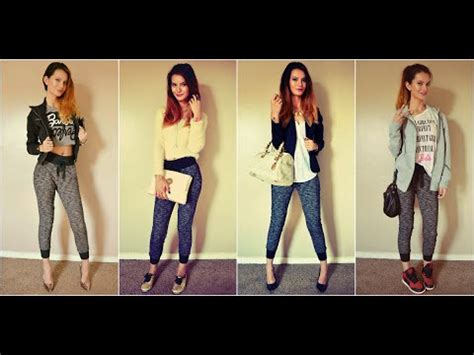 jogger womens how to style jogger fashion lookbook 2014