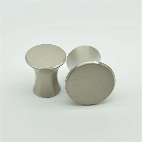 single hole cabinet pulls l type round high quality zinc alloy single hole drawer