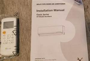 How To Install Senville 9000 Btu 230 Volts Ductless Mini