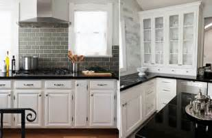 backsplash goes black cabinets elegance dream home design