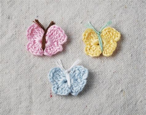 crochet pattern butterflies