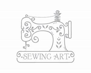 Sewing machine art Designed by dalia | BrandCrowd