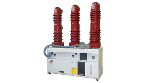 New Vacuum by Abb Launches Vd4 Af A New Vacuum Circuit Breaker For