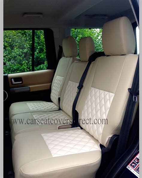 3 Seat Covers by Landrover Discovery 3 Seat Covers