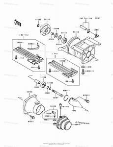 Kawasaki Jet Ski 1992 Oem Parts Diagram For Jet Pump