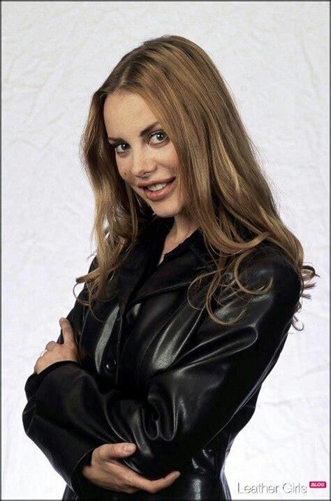 Gorgeous Xenia Seeberg Her Leather Jacket Famous
