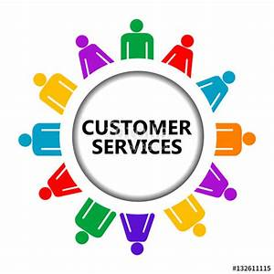 """Customer service icon"" Stock image and royalty-free ..."