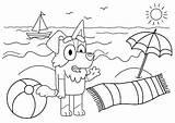Bluey Coloring Printable Mackenzie Animationsa2z sketch template