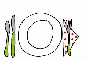 dessin assiette couverts L'Association des Parents de l'Ecole Notre Dame