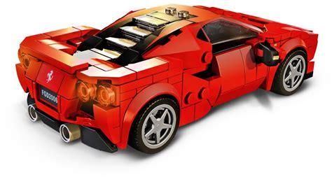 A spectacular toy playset featuring a brilliantly detailed ferrari f8 tributo. 76895: LEGO® Speed Champions Ferrari F8 Tributo - Klickbricks