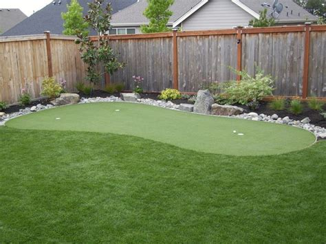 Backyard Artificial Putting Green - best 20 backyard putting green ideas on