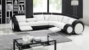 Canape Angle Cuir Blanc : canape design moss ~ Farleysfitness.com Idées de Décoration
