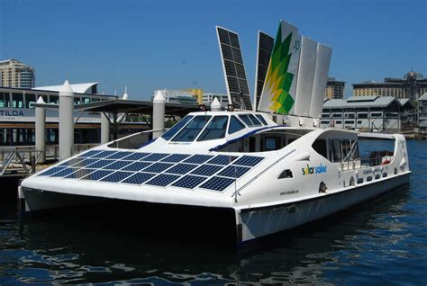 Hey Sailor! The Solar Sailor Boat  Eluxe Magazine