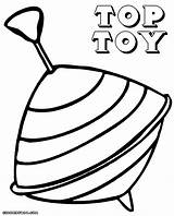 Coloring Toy Colorings Top6 Coloringway sketch template
