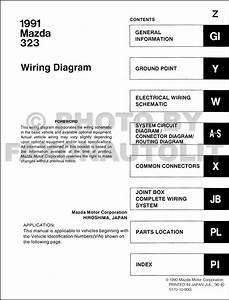 Mazda 323 F Wiring Diagram