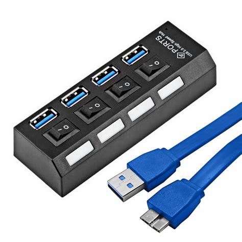 usb 3 0 hub portable micro usb hub 3 0 speed 5gbps 4 ports mini