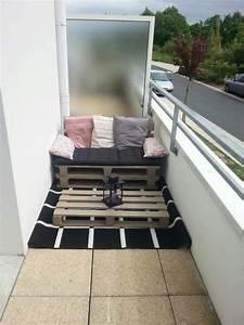 Sofa Für Balkon : diy europapaletten balkon couch balkon gg wohnung balkon dekoration balkon und m bel ~ Eleganceandgraceweddings.com Haus und Dekorationen
