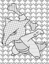 Colormon Stakataka sketch template