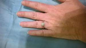 Anyone with small stone engagement rings for Tiny wedding ring