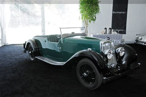 1938 Aston Martin 15/98 Image. Chassis Number E8/790/lt