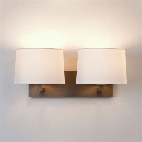 astro azumi bronze wall light at uk electrical supplies