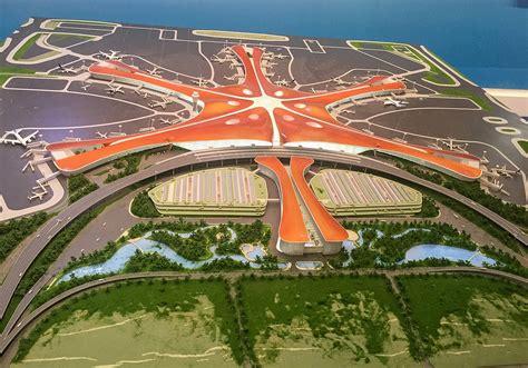 Neuer Flughafen Peking by 北京大興国際空港