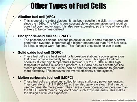 Fuel Cells Powerpoint Presentation