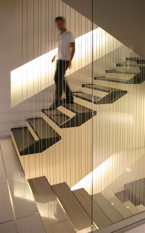 Moderne Und Kreative Innenraum Holztreppencreative Designs For Staircase 24 by Floating Stairs By Kuadra Studio Staircase In 2018