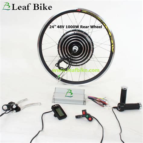 24 inch 48v 1000w rear hub motor electric bike conversion kit